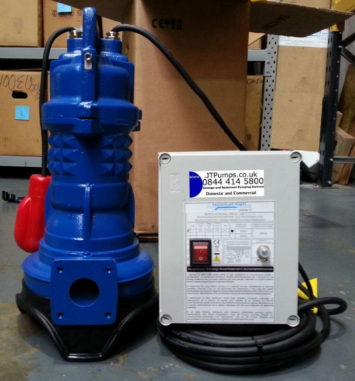 Gnash Submersible Heavy Duty Macerator/Grinder Pumps